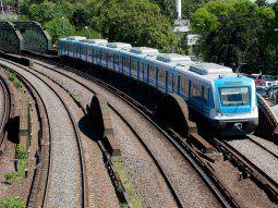 Formación de tren de la Línea Mitre.