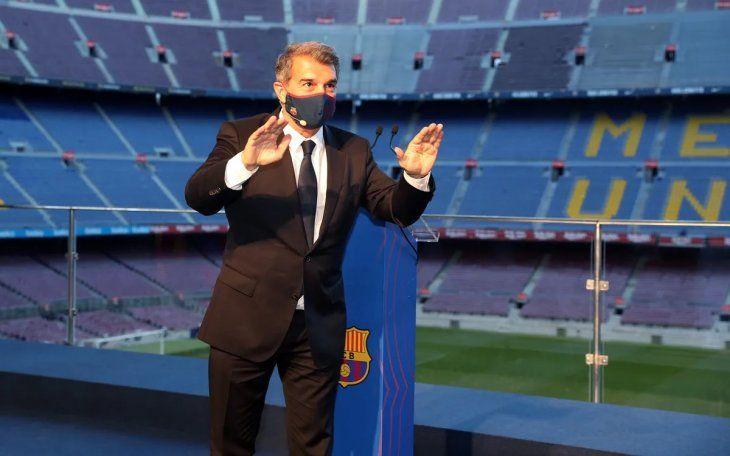 Laporta defendió a la Superliga Europa y expresó que todavía no se canceló el proyecto.