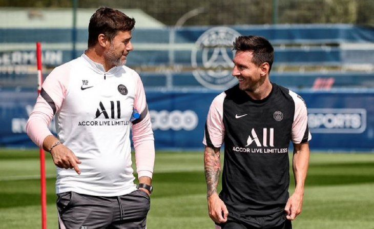 Pochettino sobre el enojo de Messi: A veces gusta, a veces no