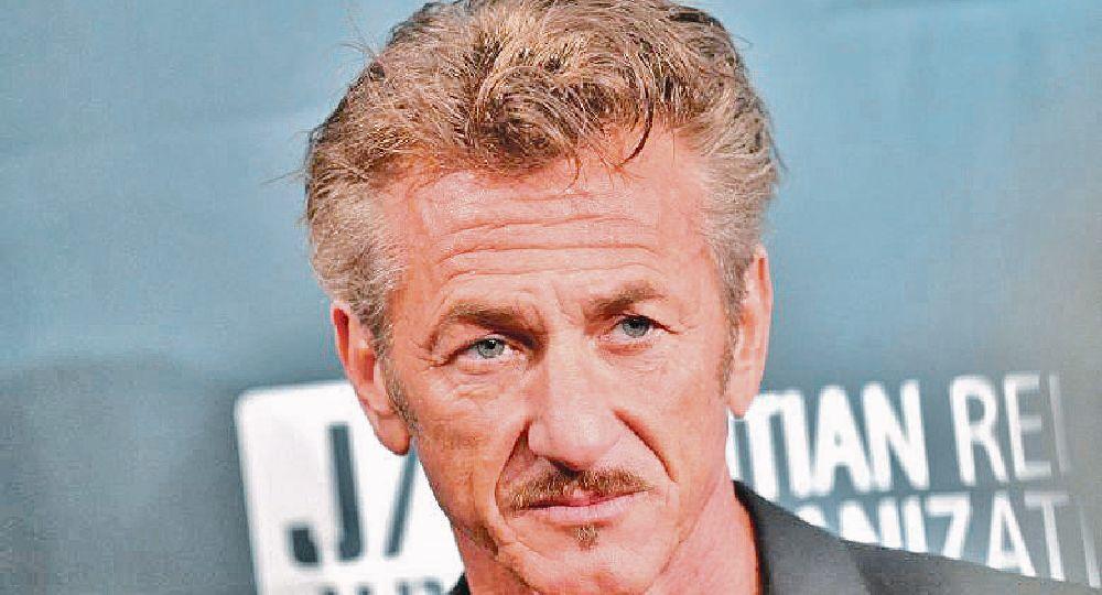 El actor Sean Penn se sumó al nuevo megaconcierto solidario