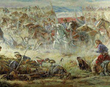 La batalla de Sarandí del 12 de octubre de 1825: el feliz destino con sangre opresora