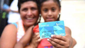 tarjeta alimentar: con ticket promedio de $2.625, compras se concentran en lacteos y carnes