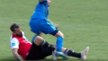 La impresionante lesión de Lucas Pratto
