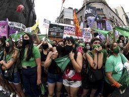 El proyecto de legalización del aborto se debatirá este martes en el Senado.