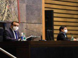 """Ni la pandemia frenó las acciones de políticas públicas"""", resaltó Herrera Ahuad."""
