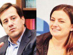 Mariano Recalde y Vanesa Siley
