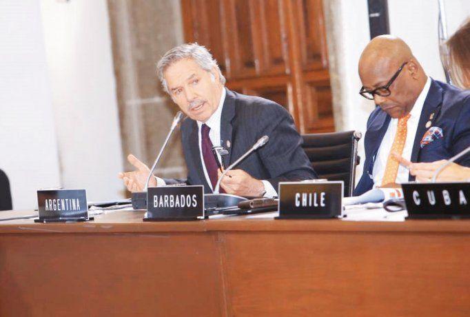 Felipe Solá en la reunión de la CELAC