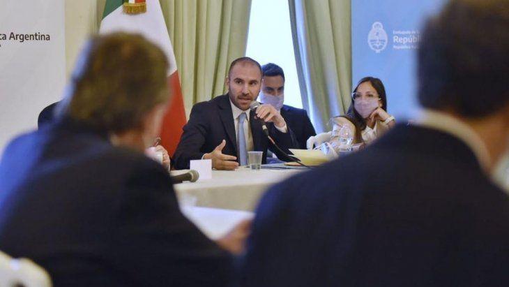 el-ministro-economia-martin-guzman-el-marco-su-gira-europa
