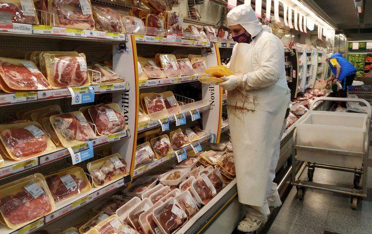 Establecen el procedimiento para el registro de declaraciones juradas de exportaciones de carne