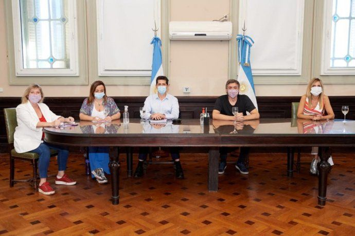 Wado de Pedro mantuvo una reunión virtual con los jefes de bloque por la fecha de las elecciones.