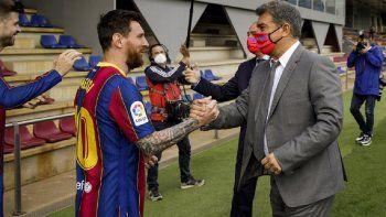 Laporta y Messi, dos apellidos clave en la era dorada de Barcelona. ¿Seguirá Leo?