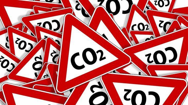 El dióxido de carbono es uno de los principales impulsores del cambio climático.