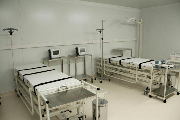 Hospital modular como parte de la Red Sanitaria Federal.
