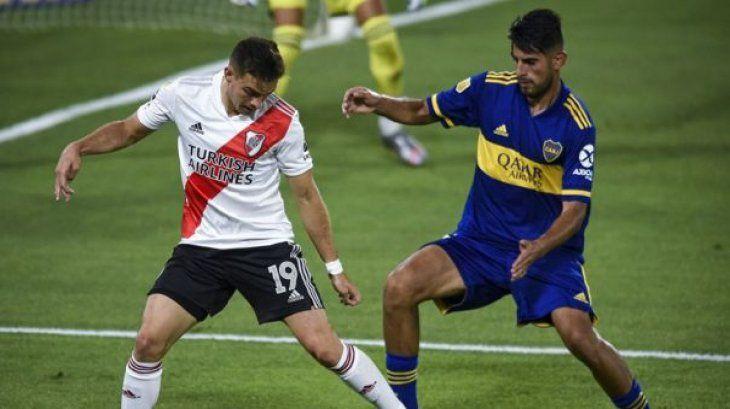 Los dos Boca-River de 2021 terminaron en empate.