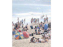 La falta de arena en las playas de la costa atlántica es preocupante.El problema llegó al gobierno bonaerense.
