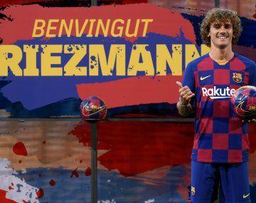 Barcelona pagó más de € 100 millones por Griezmann.