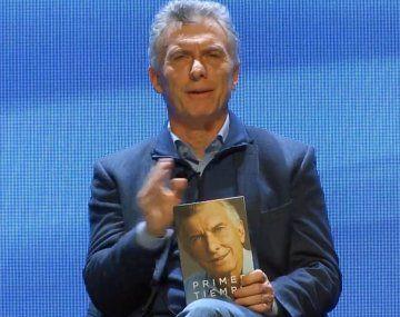 Mauricio Macri presentó su libro en Mendoza.
