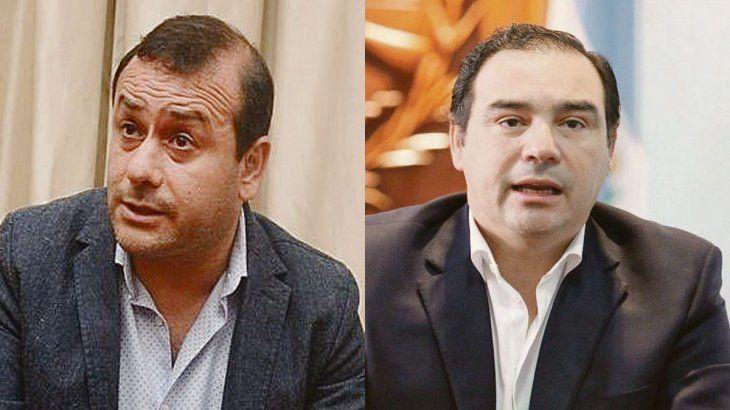 Oscar Herrera Ahuad y Gustavo Valdés.