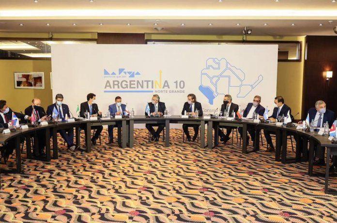 Fernández con el gabinete federal y este martes con gobernadores del Norte