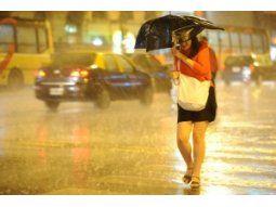El SMN aseguró que en nuestro país las tormentas no reciben nombre.