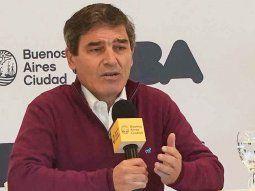 El ministro de Salud de la Ciudad, Fernán Quirós, brindó detalles sobre la situación sanitaria.