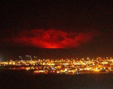 Islandia: un volcán entró en erupción cerca de la capital