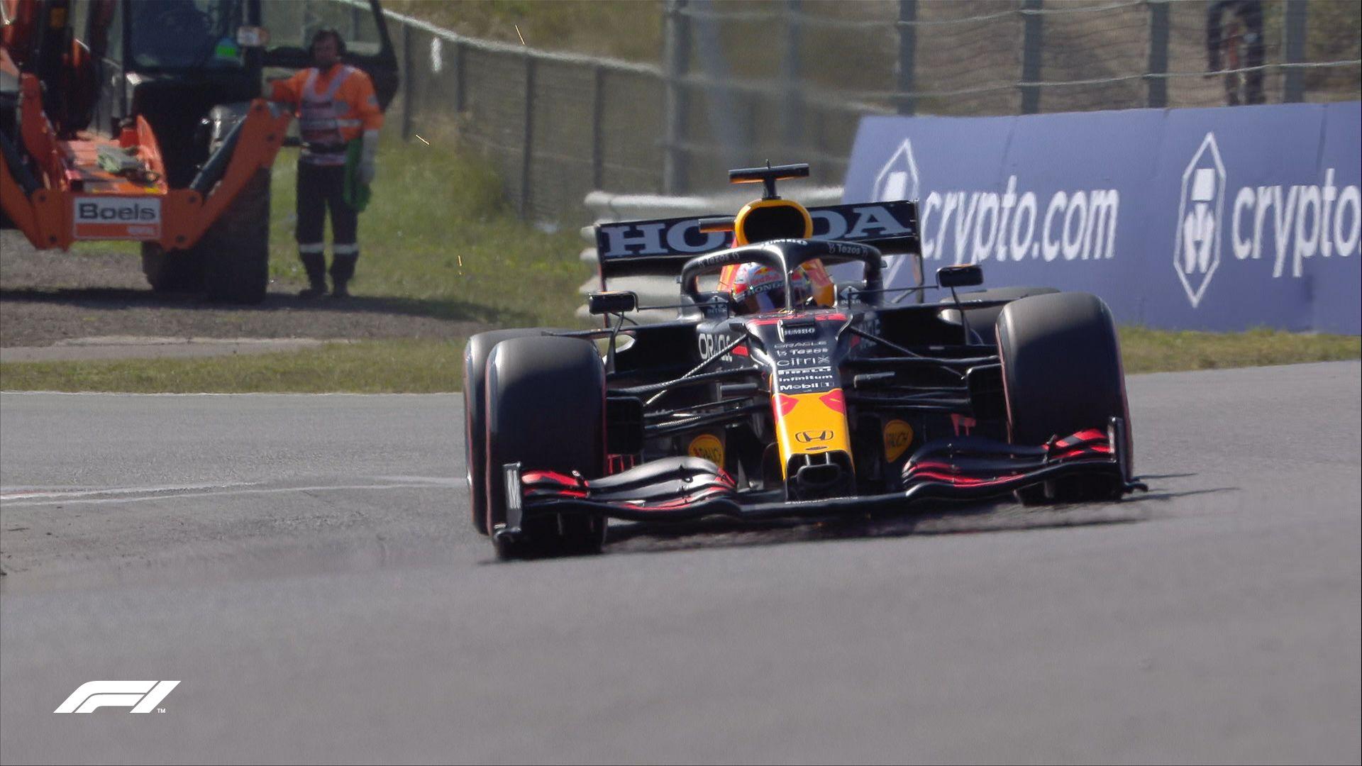 Max Verstappen venció a Lewis Hamilton en el GP de F1 en Zandvoort