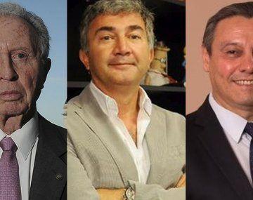 Jorge Luis Di Fiori,Teddy Karagozian y Daniel Rosato.