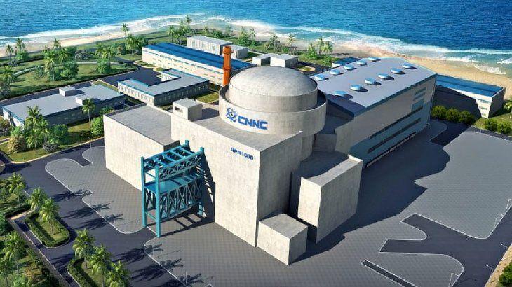 La nueva central nuclear construida con financiamiento y tecnología china tendrá una vida útil de 60 años.
