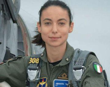 La piloto a cargo de la maniobra, Annamaria Tribuna.
