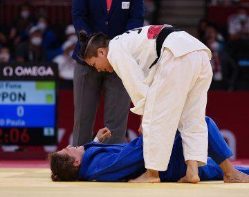 Pareto se lesionó en la segunda ronda y luego peleó disminuida en el repechaje.