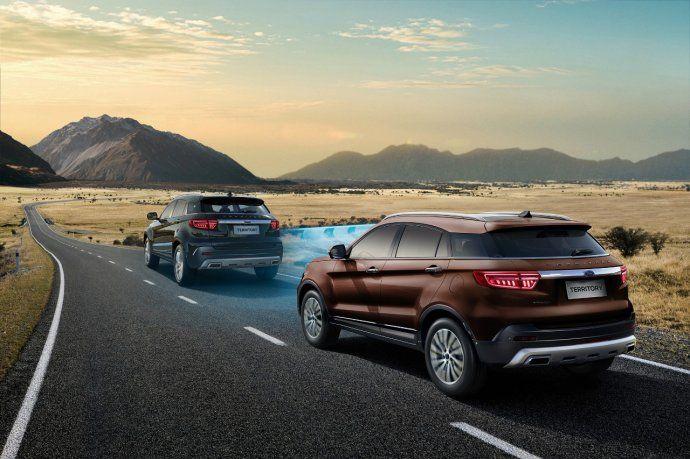 La nueva SUV fue diseñada con una arquitectura innovadora y está equipada con Ford Co-Pilot 360