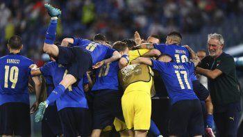 Italia es el primer clasificado a octavos en la Eu