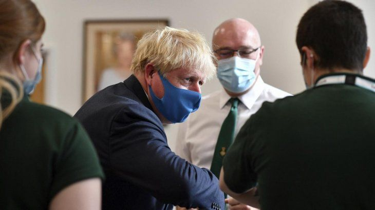 Boris Johnson ejerce actualmente la presidencia rotatoria del G7.