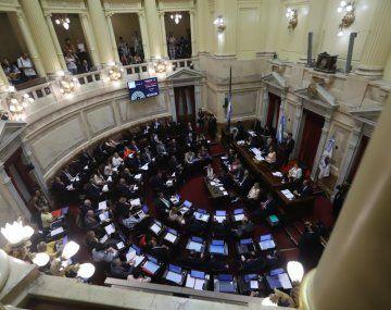 El jueves habrá sesión extraordinaria en el Senado