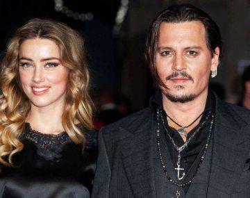 Johnny Depp y Amber Heard estuvieron casados entre 2015 a 2017.