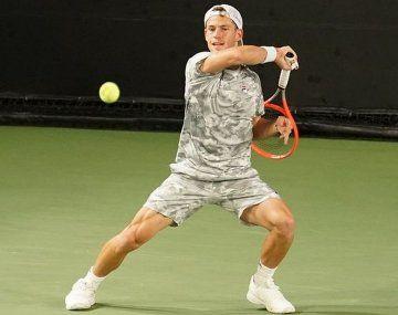 Diego Schwartzman se despidió del Masters 1000 de Indian Wells con una contundente derrota.