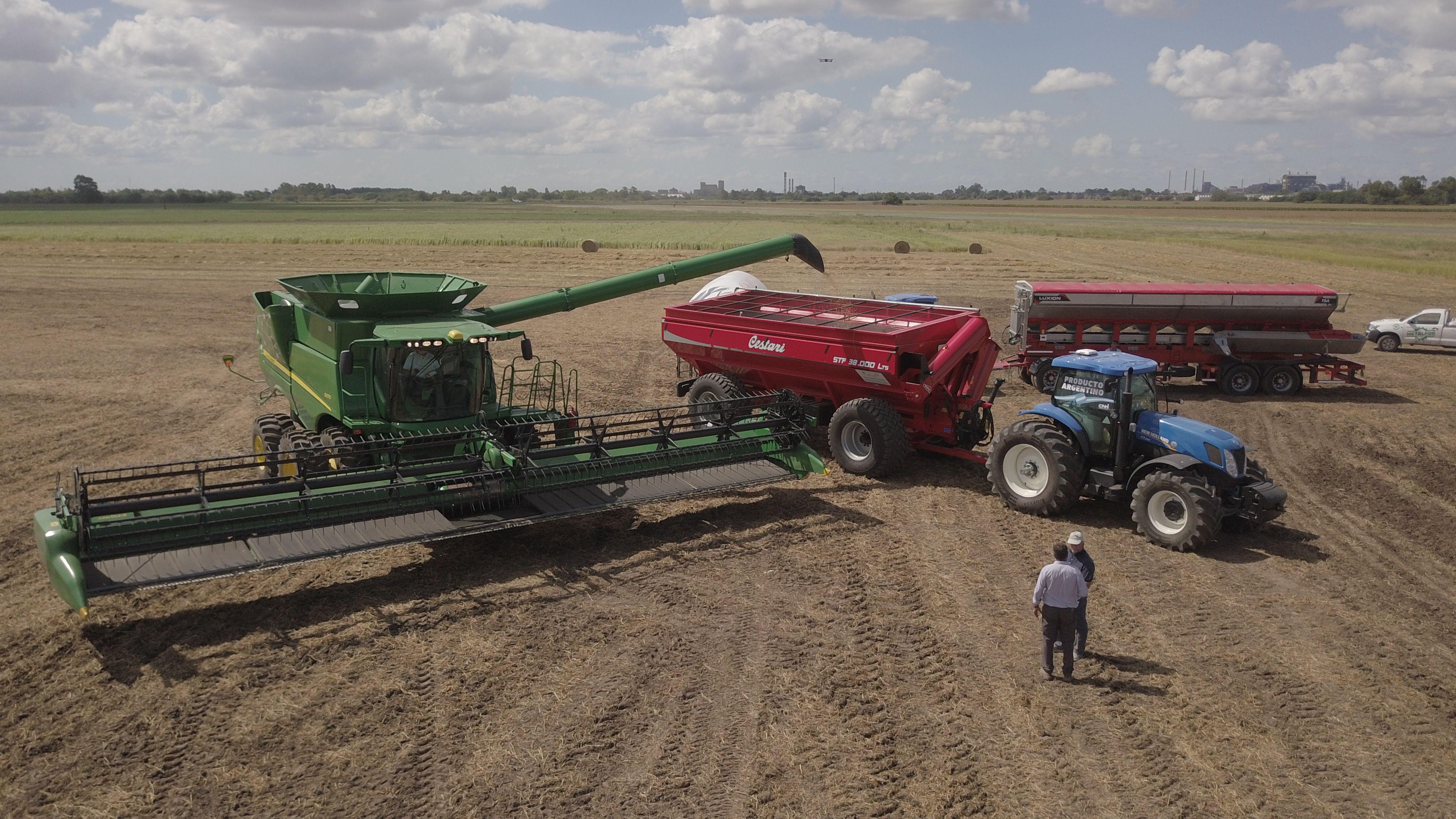 Los fabricantes de maquinaria agrícola lpreocupados por la caída de las ventas registrada en el segundo trimestre.