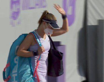 Podoroska se despidió en cuartos de Belgrado.