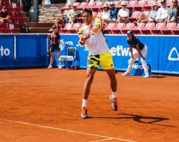 Coria ya logró el mejor torneo de su carrera en Bastad.
