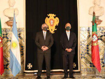Alberto se reunió con su par de Portugal: FMI, acuerdo Mercosur-UE y pandemia