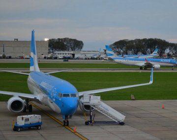 Aerolíneas Argentinas operó durante el último fin de semana 43 rutas nacionales y 12 internacionales.
