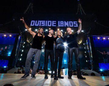 Metallica no toca en Argentina hasta diciembre. Para contentar a sus fanas, lanzó canciones de sus anteriores shows en el país.