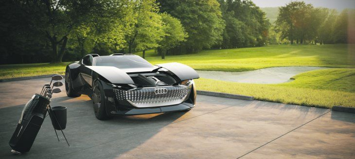Audi presenta el auto del futuro