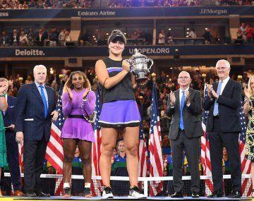 Amdreescu es la última campeona del US Open.