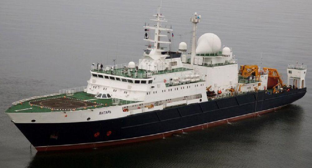 Los dos nuevos contactos fueron advertidos por el buque ruso Yantar