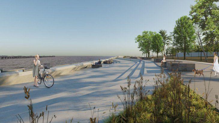 Una de las imágenes del proyecto para la Costanera Norte
