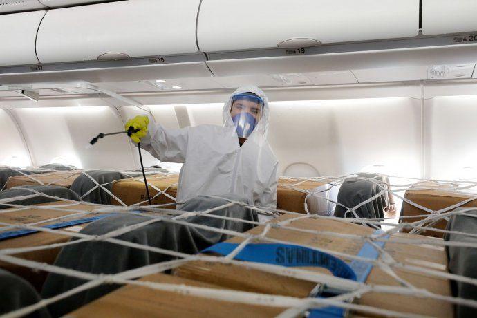 Será similar a las operaciones de carga de insumos para la pandemia que se hicieron mediante los vuelos de Buenos Aires a Shanghai