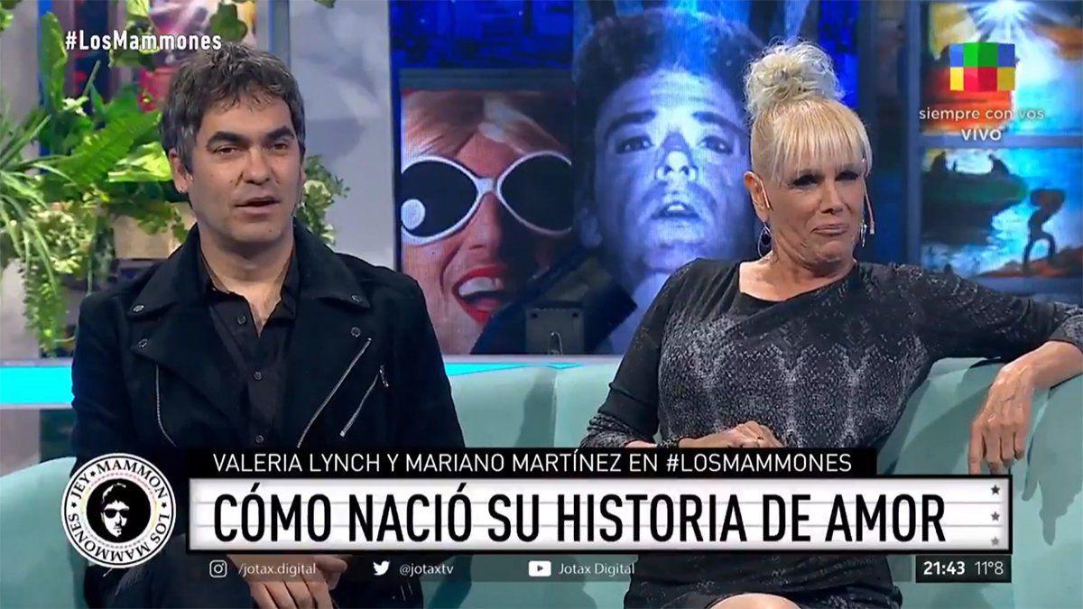 Valeria Lynch y Mariano Martínez de Attaque 77 contaron como se inicio su noviazgo