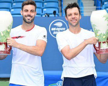 Horacio Zeballos y Marcel Granollers se consagraron en el Masters 1000 de Cincinnati.